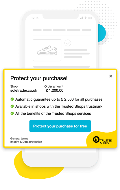 You can protect all your purchases when doing online shopping with Trusted Shops